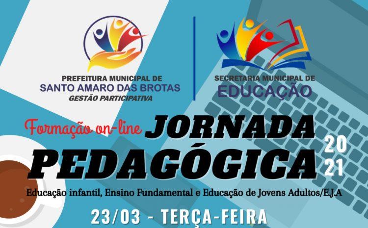 PREPARAÇÃO JORNADA PEDAGÓGICA